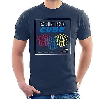 Rubik ' s macht naar de speler retro mannen ' s T-shirt