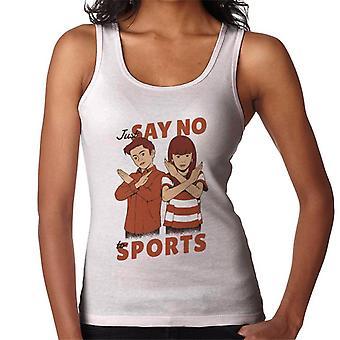 Vain sanoa ei Urheilu Naiset & s Liivi