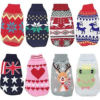 Christmas Cat Dog Sweater Winter Clothes For Small Pet Puppy Coats & Jackets