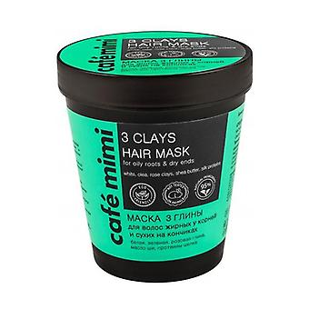 3 Clays Hair Mask 220 ml