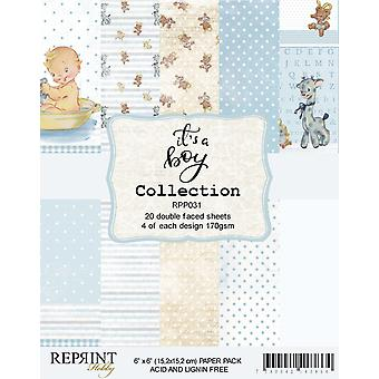 Reprint It´s a Boy Collection 6x6 Inch Paper Pack
