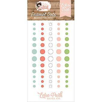 Echo Park Baby Girl Enamel Dots