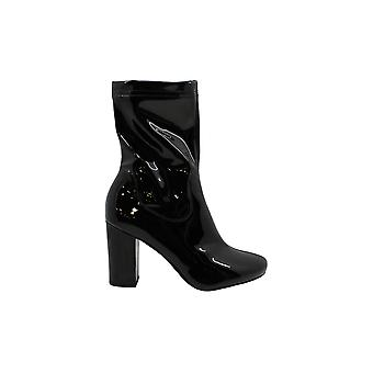 Kenneth Cole New York Alyssa Patent Boot - Women's - Black