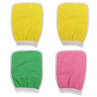 Double Sided Exfoliator Glove And Scrubber For Body Spa And Deep Cleansing