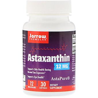 Formules Jarrow, Astaxanthine, 12 mg, 30 Softgels
