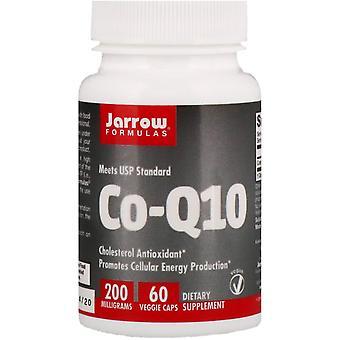 Formules Jarrow, Co-Q10, 200 mg, 60 Bonnets végétariens
