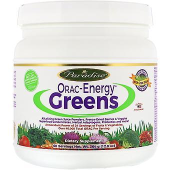 Paradise Herbs, ORAC-Energy Greens, 12,8 oz (364 g)