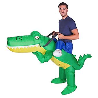 Inflatable Crocodile Halloween Costume Trick Or Treat One Size Fits All Adults