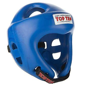 Top ten fight head guard blue
