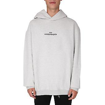Maison Margiela S30gu0143s25403856m Men's Grey Cotton Sweatshirt