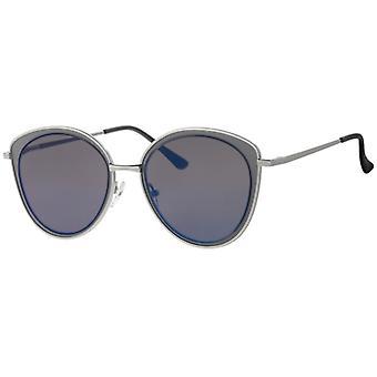 Sunglasses Women's Femme Kat. 3 silver/blue (L5120)