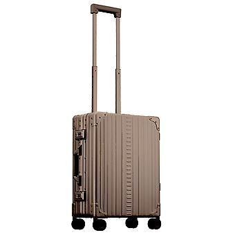 "ALEON International Carry-On Hand Luggage Trolley 21"" Trolley 4 Wheels, 40 cm, 31.5 L, Bronce"