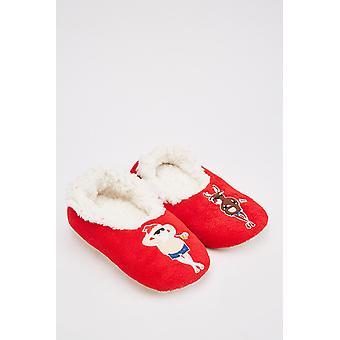 Christmas Memory Foam Slippers