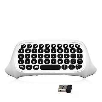 Game pad keyboard for xbox one slim microsoft controller - white | zedlabz