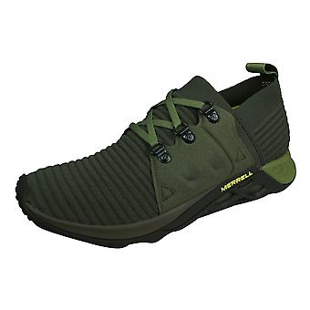 Merrell Range AC+ Mens Trail Running Trainers / Shoes - Olive