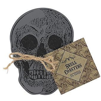 Cabinet Of Curiosities Skull Coasters (Set of 4)