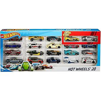 Hot Wheels 20 Auto's Giftpack Kids Speelgoed