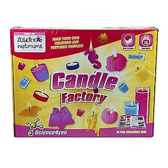 Science4you Candle Factory Kit