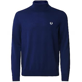 Fred Perry Uld Bomuld Roll Neck Jumper K9552