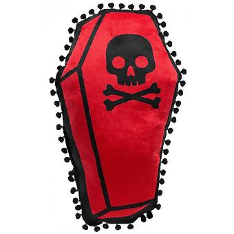 Sourpuss Clothing Coffin Shaped Pillow