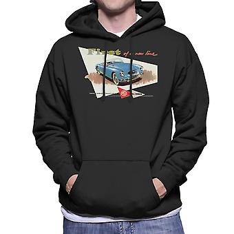 MG First Of A New Line British Motor Heritage Men's Hooded Sweatshirt