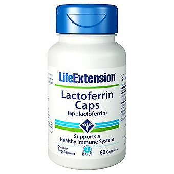 Life Extension Lactoferrin, 60 Vcaps