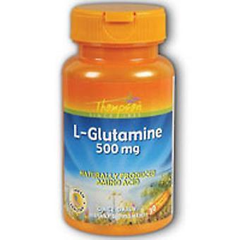 Thompson L-Glutamine, 500 MG, 30 Caps