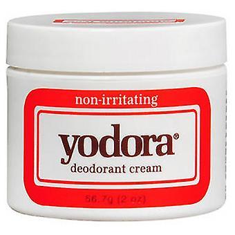 Yodora Deodorant Cream, Jar 2 oz