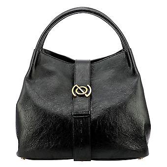 Zanellato 36298jm02 Women's Black Leather Shoulder Bag