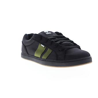Osiris Loot  Mens Black Synthetic Skate Sneakers Shoes