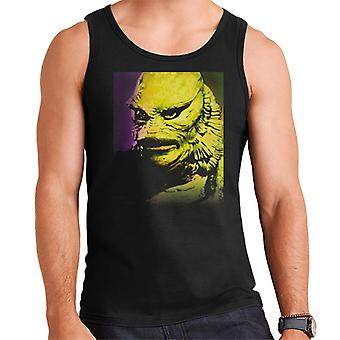 The Creature From The Black Lagoon Head Men's Vest