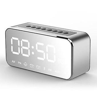 LEADSTAR MX-22 LED ساعة مرآة لاسلكية بلوتوث المتكلم 1800mAh TF بطاقة FM