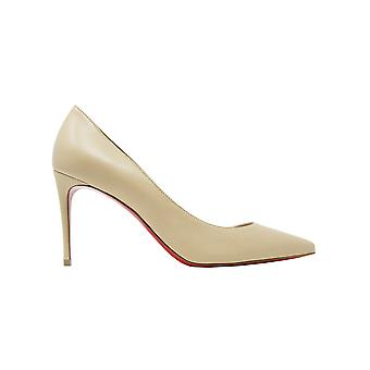 Christian Louboutin 1210665n247 Women's Nude Leather Pumps