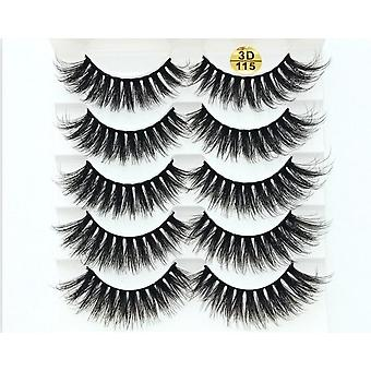 3d Faux Mink, Natural Thick Long False Eyelashes
