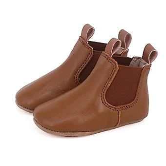 SKEANIE Pre-walker Baby & Toddler Riding Boots in Tan
