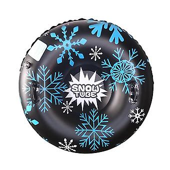 Outdoor Floated Skiing Board Winter Inflatable Circle With Handle Snow Skiing
