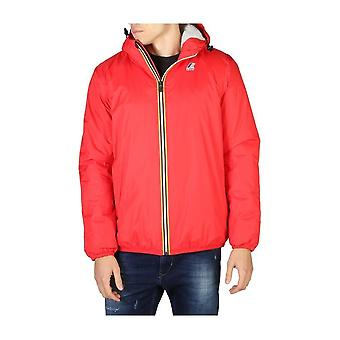 K-Way - Clothing - Jackets - LE-VRAI-K005DH0_K08 - Men -- Red - XL