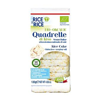 Rice squares without added salt 130 g