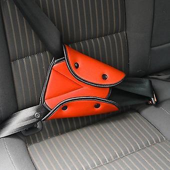 حزام السيارة تغطية قوي مثلث قابل للتعديل سلامة حزام الأمان لقطات لوحة
