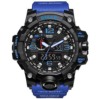 Men Military Watch, Waterproof Sport Led Quartz Clock