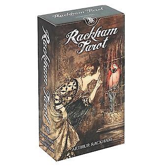 Arthur Rackham 1900-luvun tarot-kortit