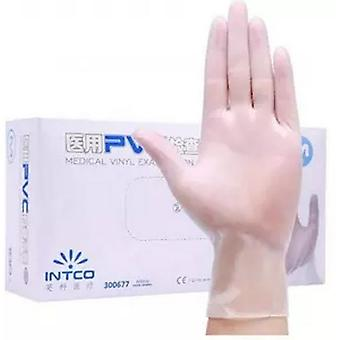 Result Essential Hygiene Vinyl Disposable Gloves (Pack of 100)