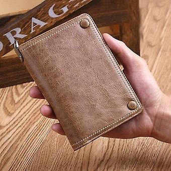 Pure Leather Luxury Wallet - Id Card Holder