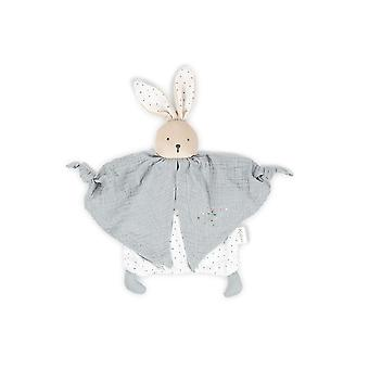 Kaloo organic cotton doudou rabbit grey