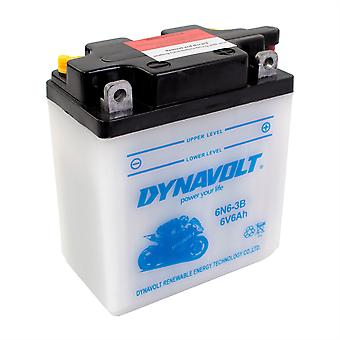 Dynavolt 6N63B Conventional Dry Charge Battery With Acid Pack
