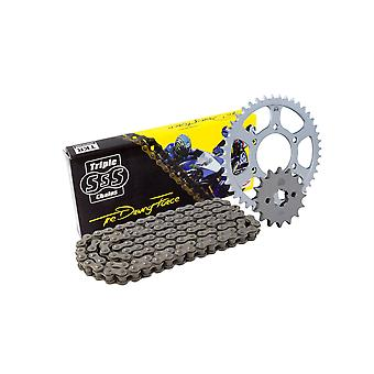 Zestaw łańcuchowy i zębaty Ducati 620 / S Monster LE / Dark 04-06