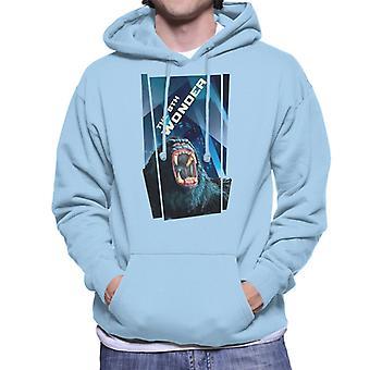 King Kong The 8th Wonder Roaring Rage In The City Men's Hooded Sweatshirt