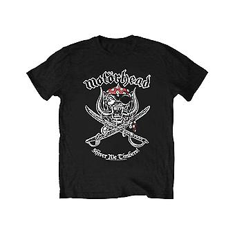 Motorhead Kids T Shirt Shiver Me Timbers Band Logo Official Black Ages 5-14 yrs
