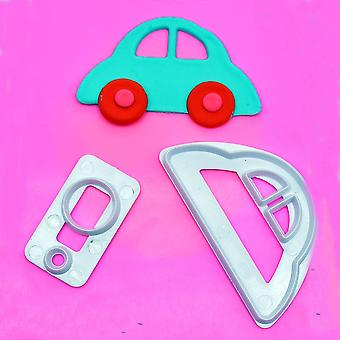 Cars Cut Mold, Fondant Cake Decoration, Plastic