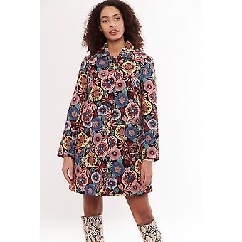 Louche Dryden Flower Power Jacquard Coat